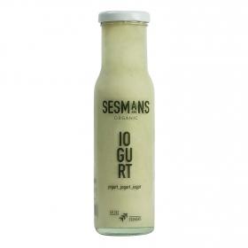 Salsa yogur ecológica Sesmans botella 240 g.