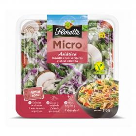Noodles con verduras y salsa asiática Florette 315 g
