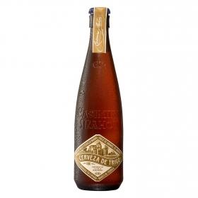 Cerveza artesana Casimiro Mahou Marcenado trigo botella 37,5 cl.
