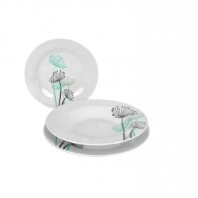 Juego de Vajilla de Porcelana Dandelion 18pz Decorado