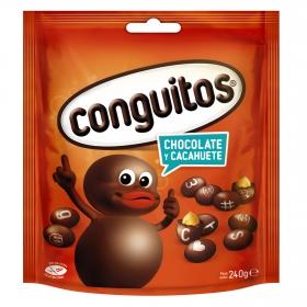 Cacahuete cubierto de chocolate Conguitos 240 g.
