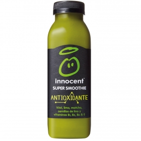 Smoothie de kiwi, lima y matcha Innocent botella 36 cl.