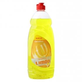Lavavajillas a mano concentrado aroma limón Carrefour 1 l.