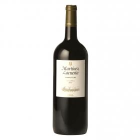 Vino D.O. Rioja tinto crianza Martínez Lacuesta 1,5 l.