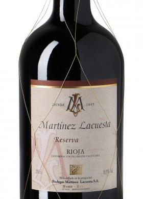 Martínez Lacuesta Tinto Reserva 2007