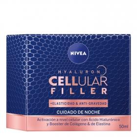 Crema de noche cellular filler Nivea 50 ml.
