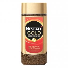 Café soluble descafeinado Gold Nescafé 100 g.