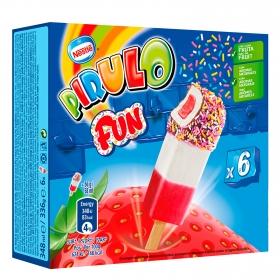 Helado Fun Pirulo Nestlé Helados 6 ud.