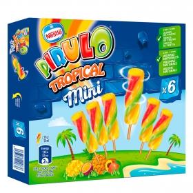 Mini helado Tropical Pirulo Nestlé Helados 6 ud.