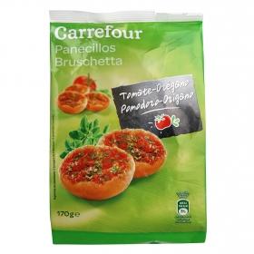 Panecillos con tomate y orégano Carrefour 200 g.