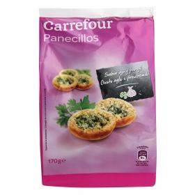Panecillos con ajo y perejil Carrefour 200 g.
