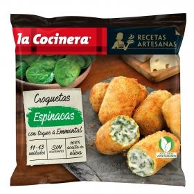 Croquetas con epinacas La Cocinera 400 g.