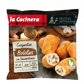 Croquetas de boletus con champiñones La Cocinera 400 g.