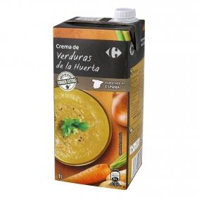 Crema de verduras de la huerta Carrefour 1 l.