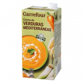 Crema de verduras mediterránea