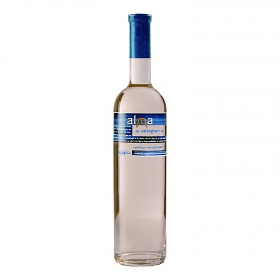 Vino sweet semi dulce blanco Alma de Valdeguerra 75 cl.