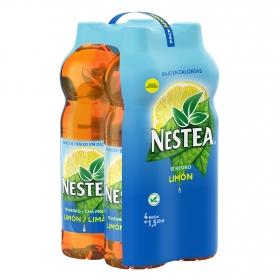 Refresco de té Nestea sabor limón pack de 4 botellas de 1,5 l.