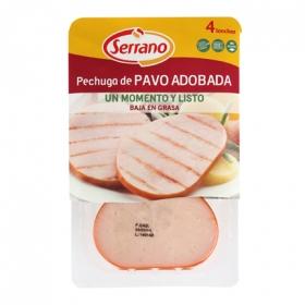 Pechuga de pavo adobada Serrano 200 g.