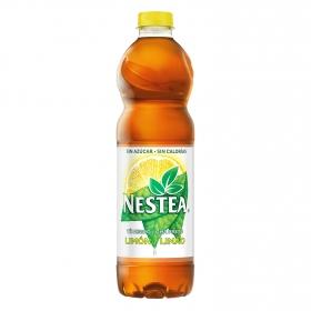 Refresco de té Nestea sin azúcar sabor limón botella 1,5 l.