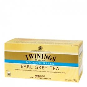 Té Earl Grey descafeinado