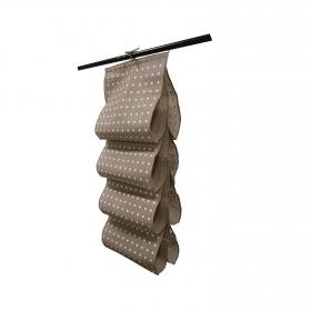 Estantería  de ordenación  de Textil Rivoli 40 x 50 x 100 cm  Beige