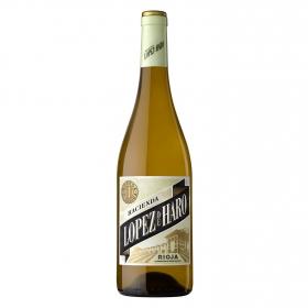 Vino D.O. Rioja blanco Hacienda López de Haro 75 cl.