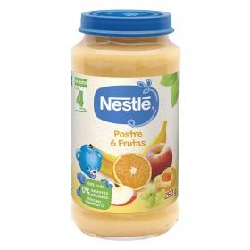 Tarrito postre de 6 frutas Nestlé sin gluten 250 g.
