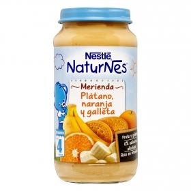 Tarrito Bebé Merienda de Fruta y Galleta