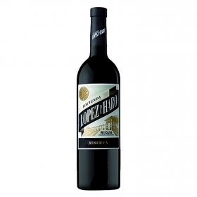 Vino D.O. Rioja tinto reserva Hacienda López de Haro 75 cl.