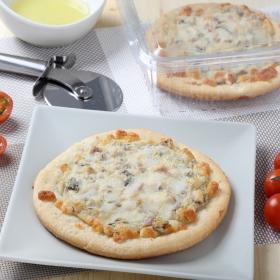 mini Pizza carbonara