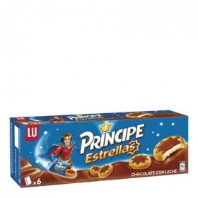 Galletas de chocolate cho leche Estrellas Príncipe 225 g.