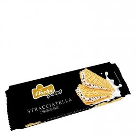 Galletas de barquillo con stracciatella Florbú 195 g.