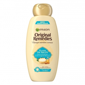 Champú nutritivo cremoso Original Remedies Garnier 600 ml.