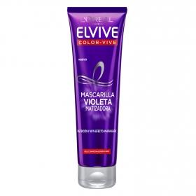 Mascarilla violeta matizadora L'Oréal-Elvive 150 g