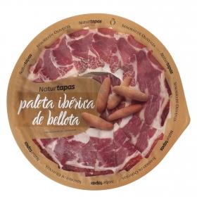 Paleta ibérica de bellota en plato Señorío de Olivenza 126 g