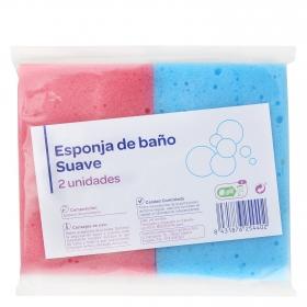 Esponja de baño suave