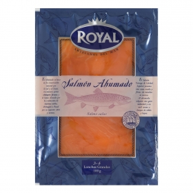 Salmón ahumado Royal 100 g.