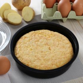 Tortilla sin cebolla