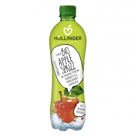 Refresco de manzana ecológico Hollinger con gas botella
