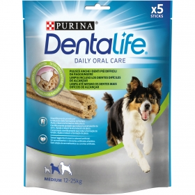 Purina Dentalife Snacks para Perro Mediano 115g - 5 Sticks