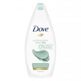 Gel de ducha arcilla Dove 500 ml.