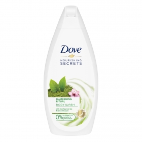 Gel de ducha té matcha Dove 500 ml.