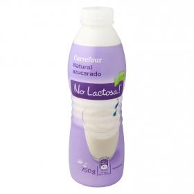 Preparado lácteo fermentado natural azucarado sin lactosa