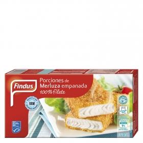 Porciones de merluza Findus 400 g.