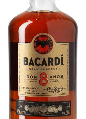 Bacardi Ron 8 años