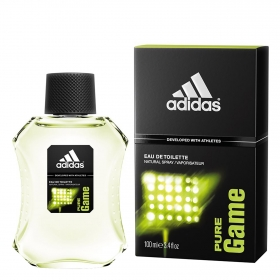 Agua de colonia masculina pure game Adidas 100 ml.