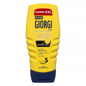 Gel fijador x-trema 'Control Total' Giorgi 250 ml.