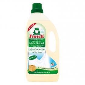 Detergente concentrado líquido ecológico Frosch 22 lavados.