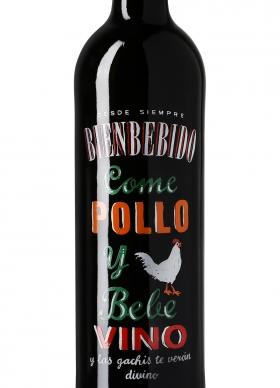 Bienbebido Come Pollo y Bebe Vino Tinto