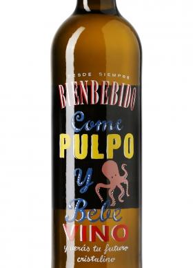 Bienbebido Come Pulpo y Bebe Vino Blanco